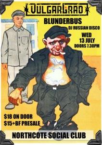 Vulgargrad, Northcote Social Club, Melbourne